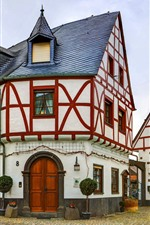 Preview iPhone wallpaper Germany, Poltersdorf, church, buildings