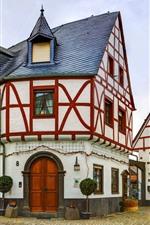 Germany, Poltersdorf, church, buildings