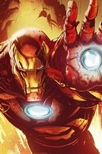 Homem de Ferro, Marvel Comics, imagens de arte