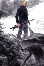 Preview iPhone wallpaper Jason Statham, The Meg