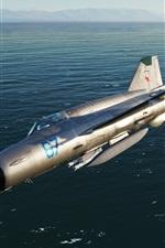 Preview iPhone wallpaper MiG-21bis frontline fighter