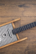 Preview iPhone wallpaper Music, creative guitar
