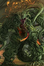 Mutant monster, art picture