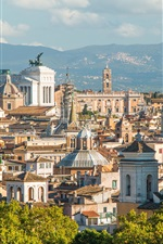 Rome, Italy, Europe, city, buildings