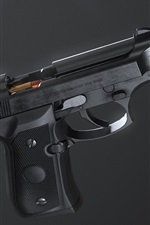Preview iPhone wallpaper Self-loading pistol, weapon