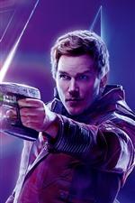 Vorschau des iPhone Hintergrundbilder Star-Lord, Avengers: Unendlichkeitskrieg
