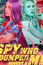 Preview iPhone wallpaper The Spy Who Dumped Me