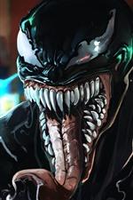 Preview iPhone wallpaper Venom, DC comics, art picture