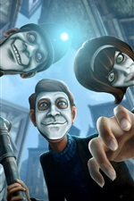 Preview iPhone wallpaper We Happy Few, video game