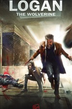 Preview iPhone wallpaper X-Men, Wolverine, Hugh Jackman, art picture