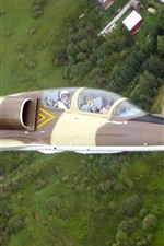 Preview iPhone wallpaper Albatros L-39C aircraft