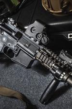 Rifle de assalto, equipamento militar, arma