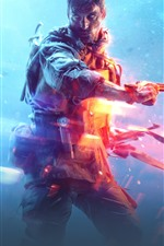 Preview iPhone wallpaper Battlefield 5, EA games, soldier