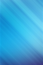 Preview iPhone wallpaper Blue lines, abstract background