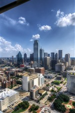 Dallas, USA, city view, buildings