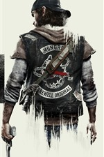 Preview iPhone wallpaper Days Gone