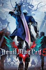 Preview iPhone wallpaper Devil May Cry 5, video game