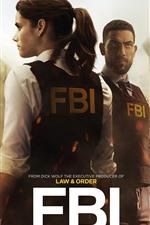 Preview iPhone wallpaper FBI, TV series 2018