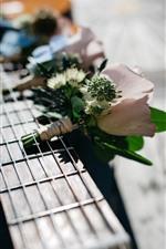 Preview iPhone wallpaper Flowers, guitar, strings