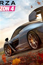 Preview iPhone wallpaper Forza Horizon 4, race cars, speed