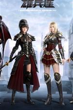 Four girls, The Black Troop