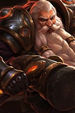 Preview iPhone wallpaper Heroes of Newerth, Dwarf