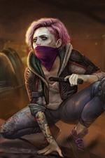 Homefront: A Revolução, garota, máscara, arma