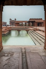 Preview iPhone wallpaper India, Agra, buildings, people