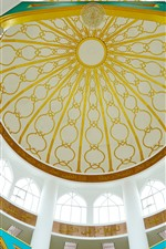 Preview iPhone wallpaper Islamic church, dome