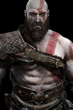 Preview iPhone wallpaper Kratos, God of War