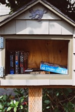 Mailbox, books