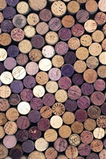 Preview iPhone wallpaper Many bottle corks