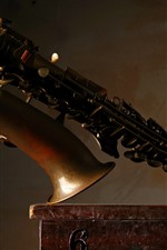 Musical instrument, saxophone