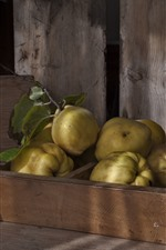 Preview iPhone wallpaper Pears, fruit, still life