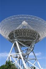 Preview iPhone wallpaper Radio telescope
