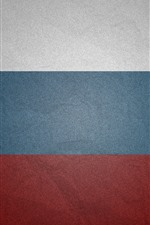 Preview iPhone wallpaper Russia flag