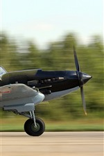Preview iPhone wallpaper Soviet attack aircraft take off