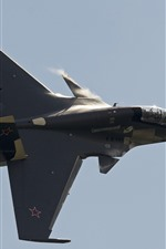 Preview iPhone wallpaper Su-30CM fighter flight in the sky