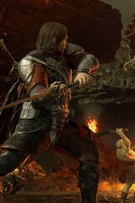 Preview iPhone wallpaper The Lord of the Rings, battle, monster, PC game