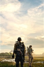 Preview iPhone wallpaper Tom Clancy's The Division, hot game