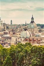 Viajar para Roma, Itália, Europa, vista da cidade