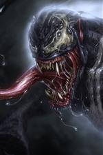 Vorschau des iPhone Hintergrundbilder Venom, Sabber, Marvel Comics