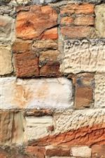 Preview iPhone wallpaper Wall, bricks, texture