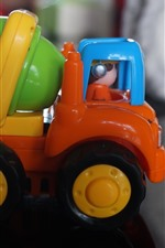 Preview iPhone wallpaper Agitator truck, toy