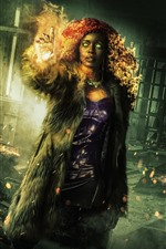 Preview iPhone wallpaper Anna Diop, Titans