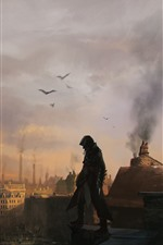 Preview iPhone wallpaper Assassin's Creed: Syndicate, London, art picture