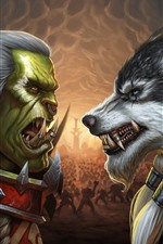 Preview iPhone wallpaper Blizzard, WarCraft, art picture, classic game