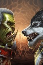 Blizzard, Warcraft, imagens de arte, jogo clássico