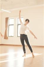 Dancing girls, fitness, room