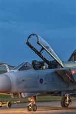 Fighter, plane, lights